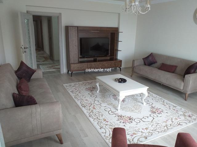 Yeni mobilyalı daire ve yeni mobilya